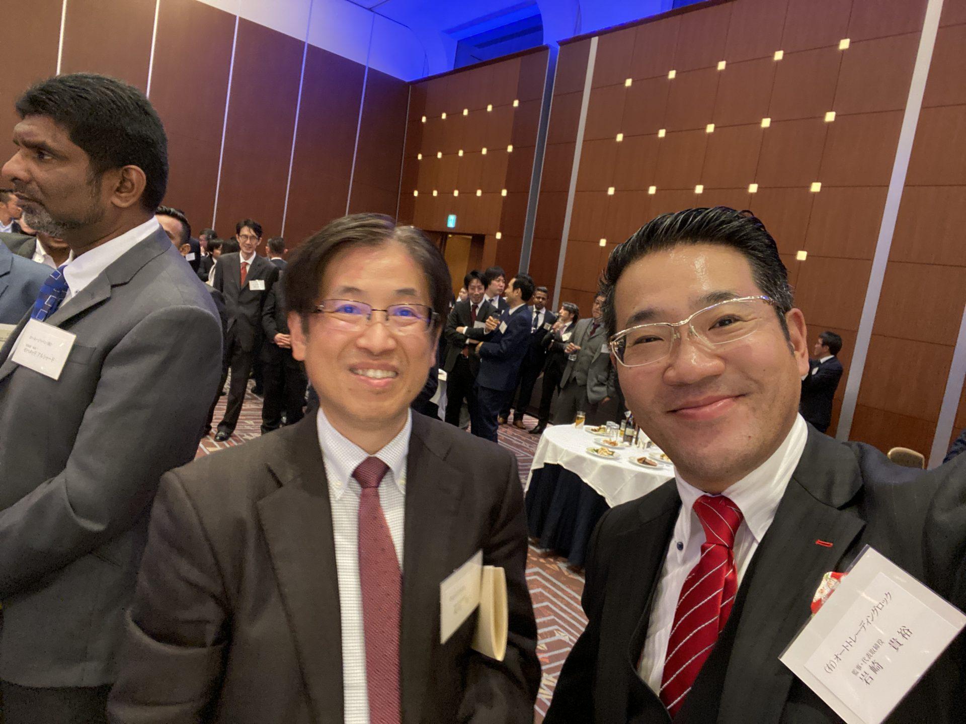 日本中古車輸出業協同組合 岩崎 貴裕