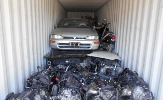 Used Japanese car parts export to Malaysia