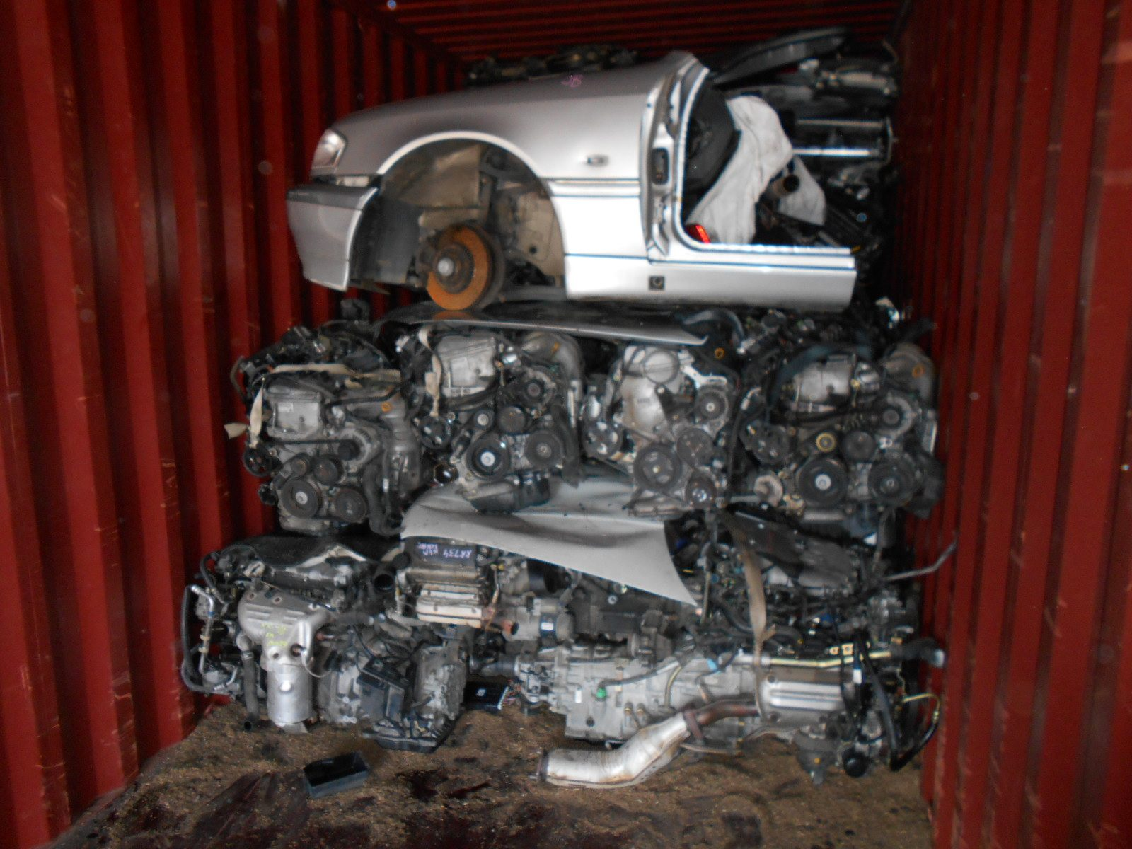 Japanese used car parts container export to Dubai,used parts japan