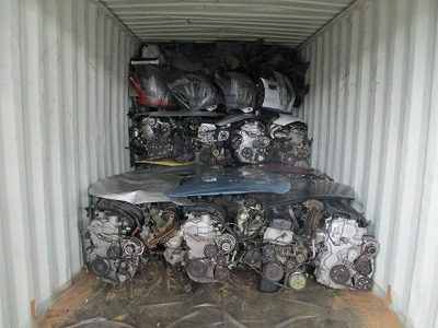Used Japanese car parts export